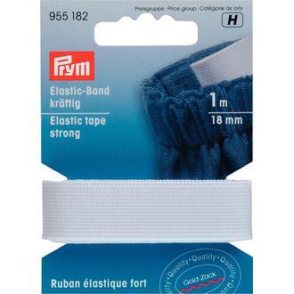 ECLAIR PRYM - Ruban élastique résistant blanc 18mm