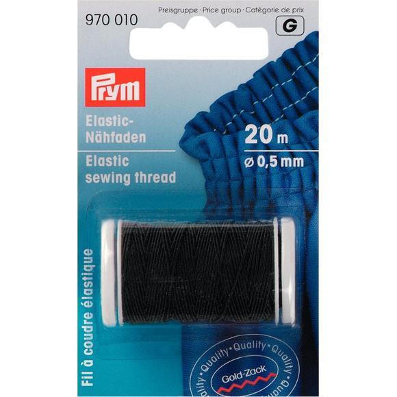 Achat en ligne Bobine de fil à coudre élastique noir 0,5mm