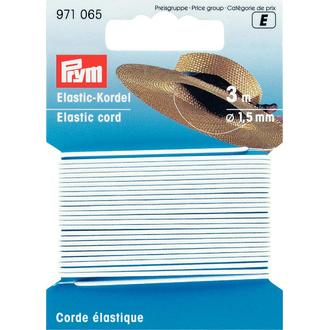 ECLAIR PRYM - Cordon élastique blanc 1,5mm
