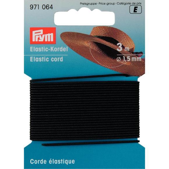 Achat en ligne Cordon élastique noir 1,5mm