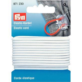 ECLAIR PRYM - Corde élastique blanche 2,5mm