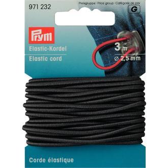 ECLAIR PRYM - Corde élastique grise 2,5mm