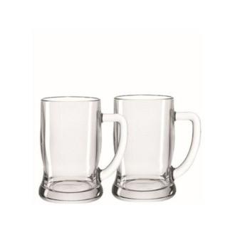 Set de Deux chopes à bière 0,50 L