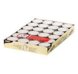 Achat en ligne 72  bougies chauffe-plat 6,5h en cire blanche