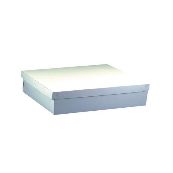 Lot 10 boites à gateaux carton rectangulaires 30x30x13cm