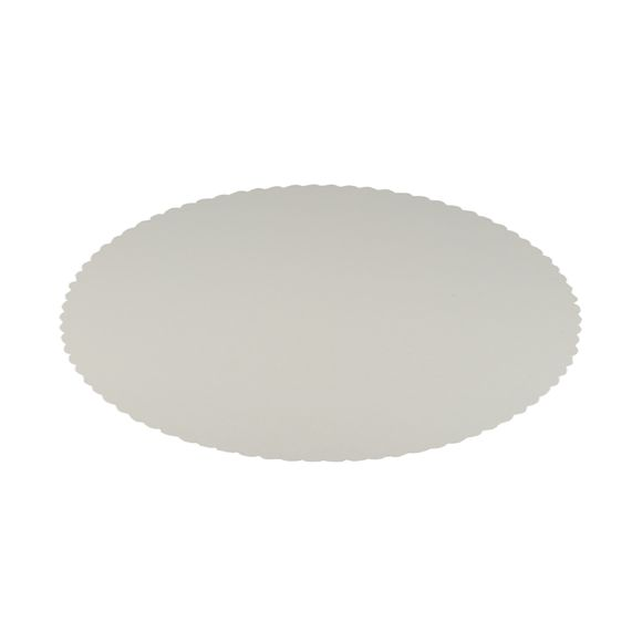 Set 10 sottotorta in cartone bianco 30cm