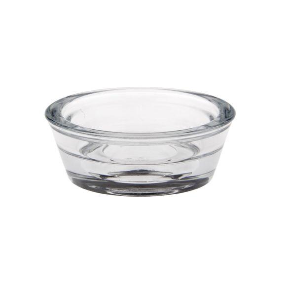 Achat en ligne Support bougie chauffe-plat rond en verre 6cm