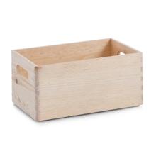 Achat en ligne Tiroir bois brut poignée 30x20
