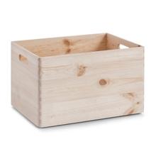 Achat en ligne Caisse de rangement en bois avec poignée 30x40x24