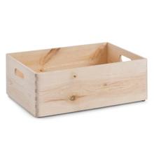 Achat en ligne Tiroir bois brut poignée 30x40