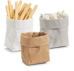 Achat en ligne Assortiment de 3 corbeilles à pain en papier 12x12x25cm