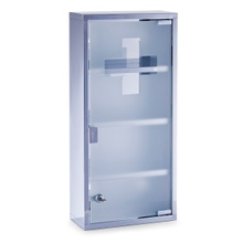 Achat en ligne Armoire pharmacie métal verre
