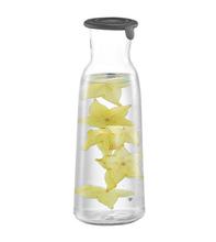 Achat en ligne Bouteille en verre avec bouchon en silicone 1L
