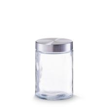 Achat en ligne Pot de conservation en verre et inox 11x16,5cm