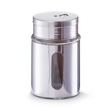 Achat en ligne Pot à épices métal avec fenêtre en verre 7x12cm