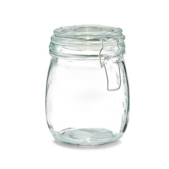 Barattolo in vetro con chiusura a clip 750ml