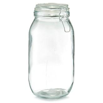 Barattolo in vetro con chiusura a clip 2l