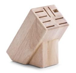compra en línea Bloque de cuchillos de madera con 9 ranuras Hevea Zeller