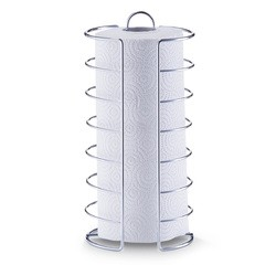 compra en línea Portarrollos de cocina de alambre acero inozidable (Ø14 x 30 cm)