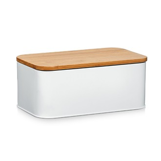 Petite boîte à pain blanche