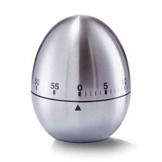 Minuteur en forme d'œuf en inox