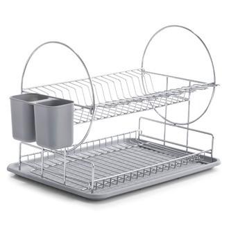 Egouttoir à vaisselle à étage 49x33x33cm
