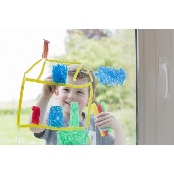 Set de 5 Marqueurs fenêtres Funtastics