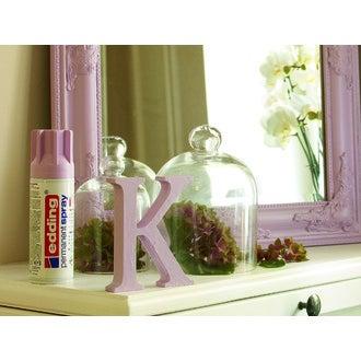 EDDING - Peinture aérosol rose pastel mat en spray 200 ml