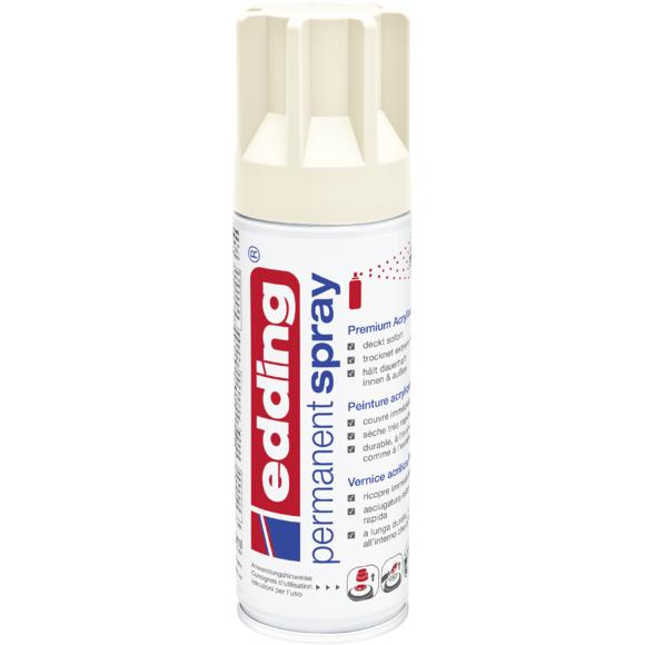 Achat en ligne Peinture aérosol ivoire mat en spray 200 ml