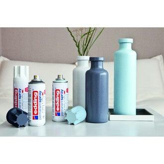 EDDING - Peinture aérosol argent mat en spray 200 ml