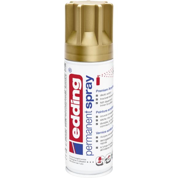 Achat en ligne Peinture aérosol or mat en spray 200 ml