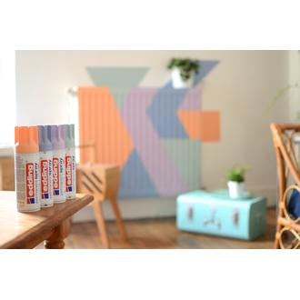 EDDING - Peinture aérosol pêche mat en spray 200 ml
