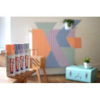 EDDING - Peinture aérosol lavande mat en spray 200 ml
