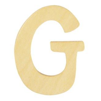 Lettre G en bois 6cm