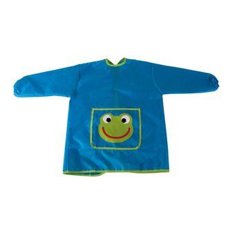 RAYHER - Tablier de peinture pour enfant bleu et vert 110 à 135cm