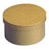 Boîte ronde en papier mâché à décorer 16,5x10 cm