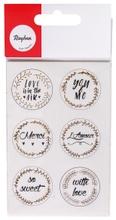 Achat en ligne Sticker Love dorée 24pces