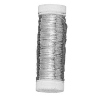 Bodine de fil d'argent 0,4mmx40m