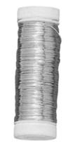 Achat en ligne Bodine de fil d'argent 0,4mmx40m