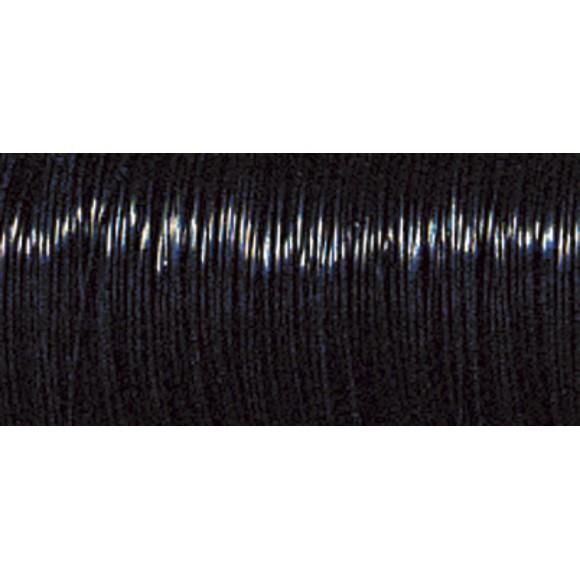 Bobine de fil de fer noir 0,35mmx55m