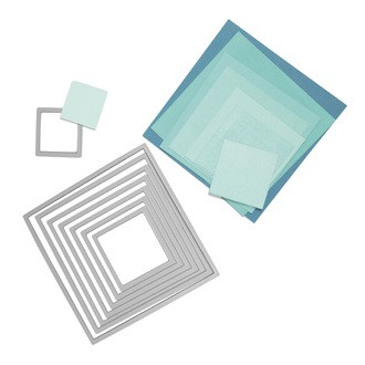 Dies sizzix kit gabarits carrés