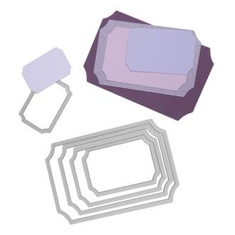 Dies sizzix kit gabarits étiquettes