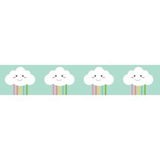 Washi Tape Happy Clouds