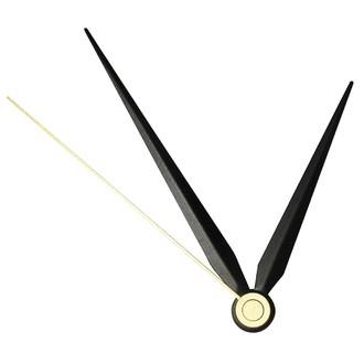 RAYER - Aiguilles d'horloge contemporaines noires 7cm et 9cm