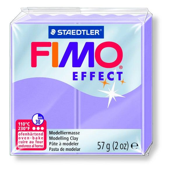 Achat en ligne Pâte à modeler à cuire lilas pastel Fimo Effect 8020-605 57g