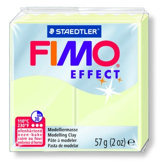 Pâte à modeler à cuire luminescent Fimo Effect 8020-04 57g