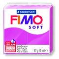 Pâte à modeler à cuire framboise Fimo Soft 8020-22 57g