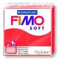 Pâte à modeler à cuire rouge indien Fimo Soft 8020-24 57g