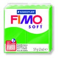 Pâte à modeler à cuire vert tropique Fimo Soft 8020-53 57g
