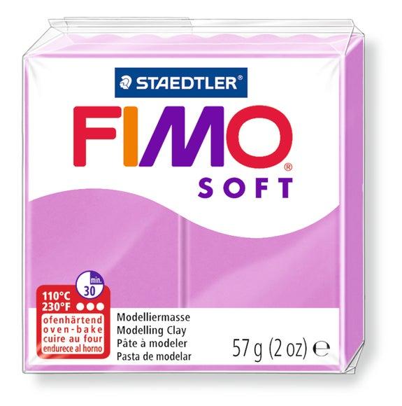 Achat en ligne Pâte à modeler à cuire lavande Fimoi Soft 8020-62 57g